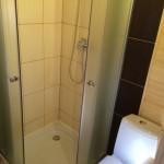 łazienka w domku letniskowym na Morskiej